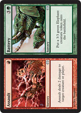 Assault // Battery X4 (Planechase 2009) MTG (NM) *CCGHouse* Magic