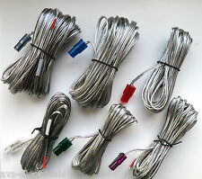 New Samsung Speaker Cables Wires With Connectors x 6 Leads HT-X30 * HT-X715
