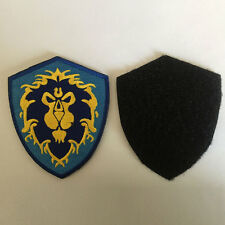 World of Warcraft WOW Alliance Insignia Tactical Morale Badge Emblem Biker Patch