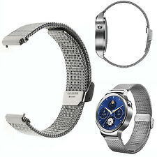 For Huawei Smart Watch Milanese Stainless Steel Band Strap Quick Release