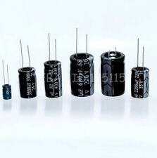 50PCS New 50V 100uF 50Volt 100MFD Electrolytic Capacitor 8mm×12mm Radial