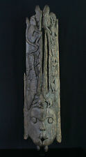 Dayak wooden Panel or Coffin Cover, Kalimantan Borneo Indonesia, 147cm / 58 inch