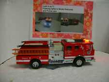 Code 3 LAFD Seagrave Engine fire truck with flashing lights VIDEO