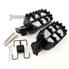 Aluminium Footrest Foot Pegs For Yamaha PW 50 80 PW50 PW80 TW200 Dirt Bike