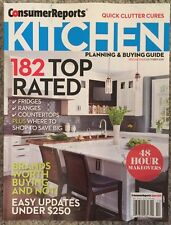 Consumer Reports Kitchen Planning And Buying Top Rated Oct 2015 FREE SHIPPING