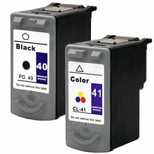 2PK NON-OEM ink for Canon PG-40 CL-41 MP140 MP150 MP160 IP2600 JX200 MX300 MX310