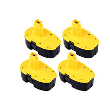 4Pcs 18 Volt Battery Pack For DeWALT DC9096 18V XRP Batteries