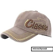 King Star Men Classic Adjustable Outdoor Sport Baseball Cap Hat brown