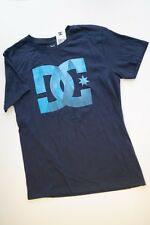 NEW NWT DC SHOES CO Navy Blue Short Sleeve Logo T-Shirt Boys M 10/12