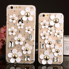 For Apple iphone7 PLUS 5.5' fresh Sun flower Crystal Case cover  S1236