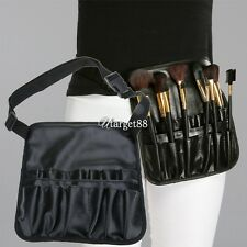 Cosmetic Makeup Brush Apron Artist Belt Strap Holder Bag Case PVC UTAR