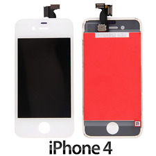 IPHONE 4 LCD SCHERMO DISPLAY RETINA TOUCH SCREEN VETRO FRAME BIANCO LCD