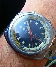 VINTAGE ENICAR SHERPA SUPER JET GMT WORLDTIMER SUPER COMPRESSOR & FULL OVERHAUL