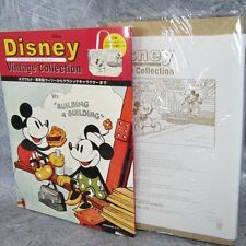 DISNEY VINTAGE COLLECTION w/Tote Bag Magazine Art Book Japan Fanbook