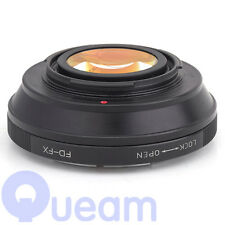 Focal Reducer Speed Booster Canon FD Lens to Fujifilm FX Adapter X-T1 X-E1 X-M1