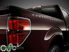 Ford F150 F250 F350 Chrome Harley Davidson Truck Bed Side Letter Decal Emblems 2