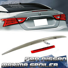 2016 New FOR Nissan Maxima 8th A36 Sedan OE Trunk Spoiler Wing ABS SR SV
