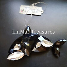 Ganz Crystal Expressions Orca Whale Sun Catcher Killer Whale Ornament