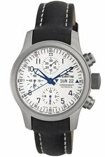 Fortis Men 635.10.12 L.01 B-42 Flieger Swiss Automatic Valjoux 7750 Chrono Watch