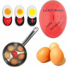 Egg Perfect Color Changing Timer Yummy Soft Hard Boiled Eggs Cooking Kitchen FE
