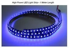LED Light Strip HIGH POWER Blue color for Auto Airplane Aircraft Rv Boat Interio