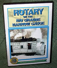 "cp039 TRAIN VIDEO DVD ""ROTARY SNOWPLOW ON THE RIO GRANDE NG"" 1970'S"
