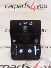 VAUXHALL ASTRA G MK4 / ZAFIRA WHITE LED TWIN HEADLIGHT SWITCH FRONT & REAR FOGS