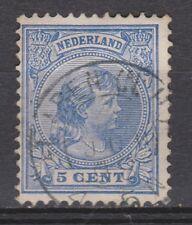 NVPH Netherlands Nederland 35 used TOP CANCEL LAREN (NH)  Wilhelmina 1891-1894