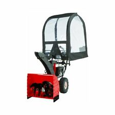 ARNOLD SNOWTHROWER CAB, Easy Installation Black Deluxe Universal SNOW BLOWER CAB