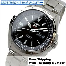 SEIKO 5 SPORTS SARZ005 Mechanical Automatic Silver Black Men Watch Made in Japan