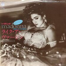 MADONNA / LIKE A VIRGIN 45 w/Picture Sheet Orig JAPAN ISSUE