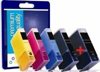 Canon PGI520 and CLI521 Multipack Ink Cartridges - Bundle of 5 Compatible Inks