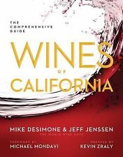 Wines of California: The Comprehensive Guide, Jenssen, Jeff, DeSimone, Mike, New