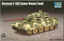 Trumpeter 1/72 Model Kit 07121 German E-100 Super Heavy Tank