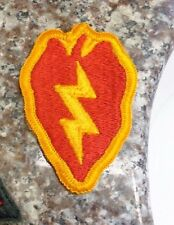PATCH, SSI, CURRENT MANUFACTURE, 25TH INFANTRY DIVISION