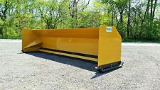 12' Snow pusher boxes FREE SHIPPING backhoe loader snow plow Express Steel