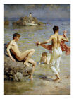 Henry Scott Tuke Oil Painting repro Gleaming Waters