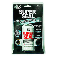 A/C PRO R-134a Super Seal Kit w/ Hose Metal Rubber Repair AC Stop Leak QUEST