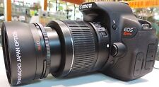 52mm 2x zoom Lens for Canon EF 50mm f/1.8 II  2X T3I T4I T5I 20D XT Elan 60D XS