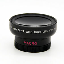 HD 37MM 0.45x Wide Angle Macro Lens Macro Conversion Lens for Canon Nikon Sony