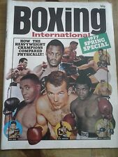 Boxing Magazine 1977 Spring Special Heavyweight Champions Compared Physically