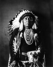 Native American Indian Chief Joseph Portrait Photo Art Print Poster