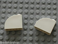 Lego white Brick 1 x 3 x 2 Curved Top ref 33243 / Set 7470 10225 7699 10186 8682