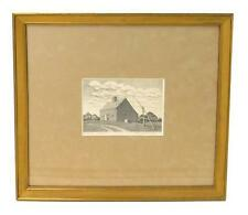 """Ruth Haviland Sutton, (American, 1898 - 1960), """"The Oldest House in N... Lot 272"""