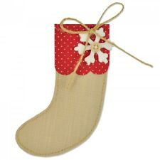 Sizzix bigz die noël stocking 661297 découpe big shot, cut n boss