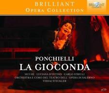 Ponchielli, Amilcare: Hui He/D 'Intino/Striuli/+ - la Gioconda * 3 CD * NUOVO *