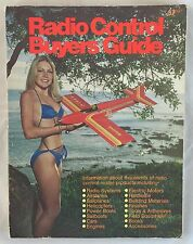 Vintage 1979 Radio Control Buyers Guide Airplanes Helicopters Boats Engines +++