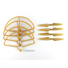 Hubsan H501S H501C RC Quadcopter Sapre Parts Gold CW/CCW Propellers & Protection