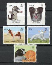 39308) FALKLAND ISL. 1993 MNH** Domestic Animals 5v