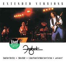 FOGHAT LIVE - EXTENDED VERSION- SLOW RIDE- JUST FOR THE CITY NEW SEALED CD